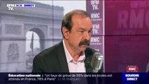 """Philippe Martinez: la grève est reconductible """"pour un certain nombre de secteurs, dans les transports, c'est certain"""""""