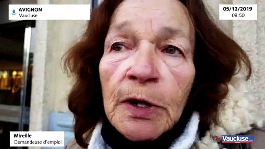 Avignon : Mireille, demandeuse d'emploi