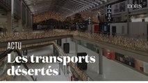 Au matin de la grève générale, les gares d'Ile-de-France désertées