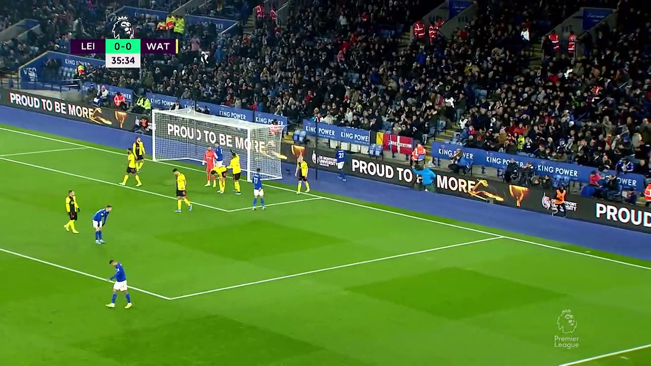 Leicester City - Watford (2-0) - Maç Özeti - Premier League 2019/20