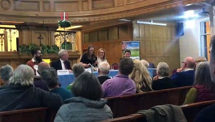 Harrogate 'green' hustings