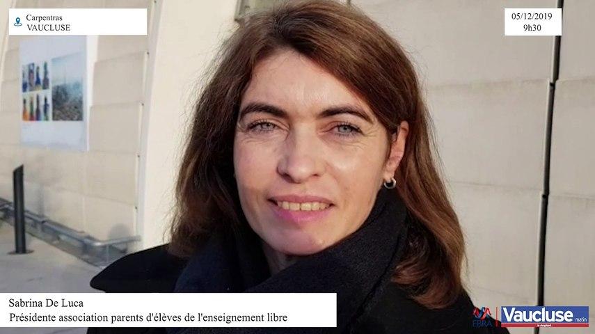 Grèves: Sabrina De Luca