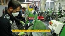 Aveyron : la réforme des retraites vue par les salariés de Laguiole