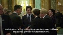 Trudeau, Macron et Johnson plaisantent sur Trump
