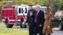 Melania Trump kiakadt