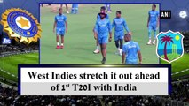 West Indies stretch it out ahead of 1st T20I with India
