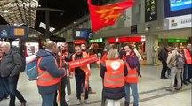 Általános sztrájk Franciaországban