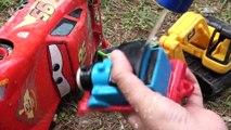 Disney Cars Toys under the trees