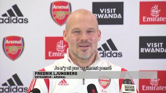 Freddie Ljungberg, une première à l'Emirates