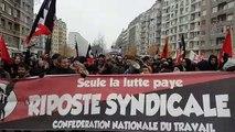 Grève du 5 décembre : dans la manifestation grenobloise