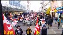 Grève du 5 décembre : les manifestants défilent à Belfort