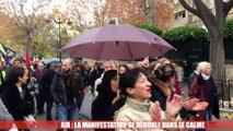Aix : la manifestation se déroule dans le calme