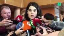 """Isa Serra: """"¿Qué pasaría si esto hubiese sido en la Puerta del Sol?"""""""