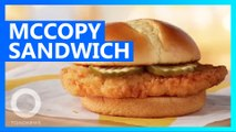 McDonald's is testing a new chicken sandwich