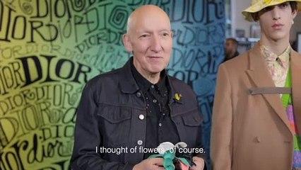 Savoir-faire : les secrets des fleurs artificielles du défilé Dior pre-fall 2020