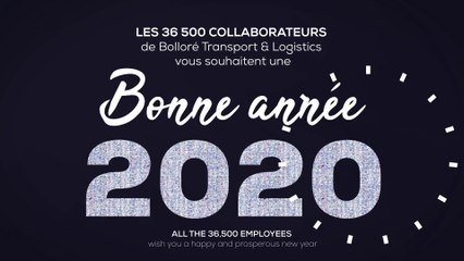 Happy new year 2020 - Bolloré Transport & Logistics