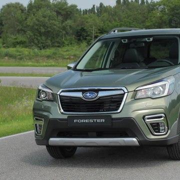 The new Subaru Forester ECO HYBRID Exterior Design