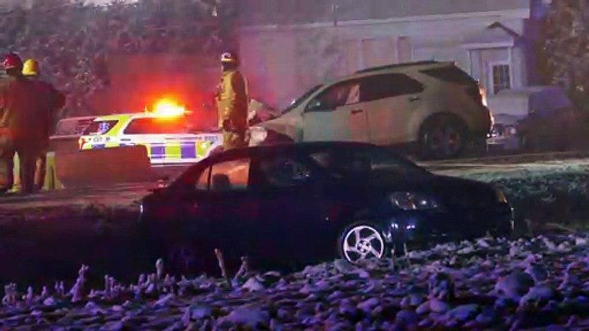 Grave accident sur la route 138 à Sainte-Martine