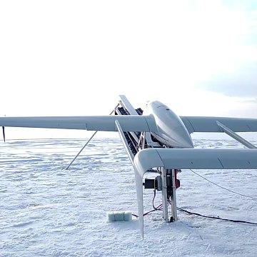 "Launch UAS ""Raybird-3"""