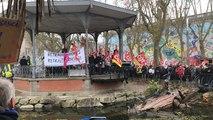 La Roche-sur-Yon. Manifestation pour les retraites