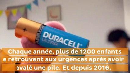 L'incroyable invention de Duracell pour éviter que les enfants n'avalent les piles boutons