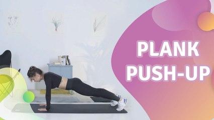 Plank Push-up -  Besser gesund Leben