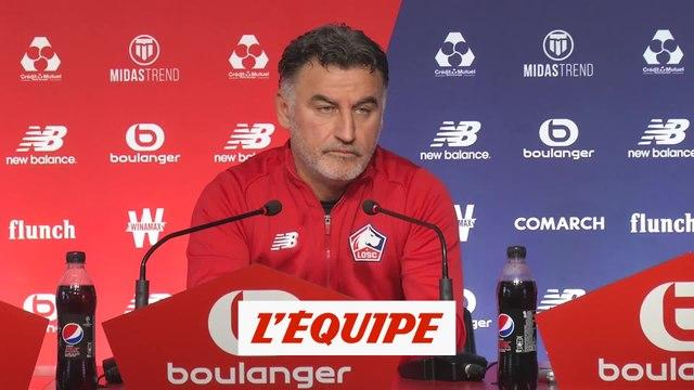 Galtier confirme le forfait de Souamoro et de Reinildo - Foot - L1 - Lille