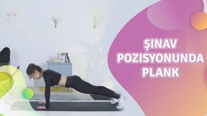 Şınav pozisyonunda plank -  Sağlığa bir Adım