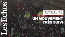 Forte mobilisation pour la grève du 5 décembre