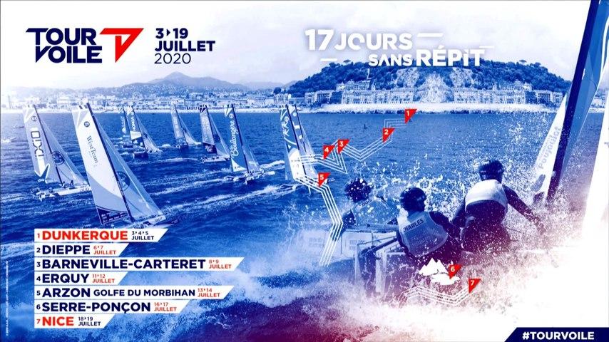 Tour Voile 2020 - Présentation du parcours