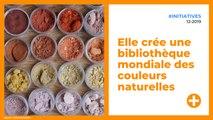 Elle crée une bibliothèque mondiale des couleurs naturelles