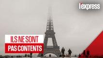 À Paris, les touristes désabusés face à aux musées fermés et trains annulés