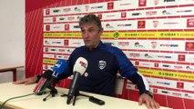 "Football - Ligue 1 Nîmes :  ""Mon horizon, c'est demain 22h30"" (Blaquart)"