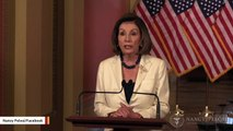 Trump Reacts To Pelosi's Impeachment Remarks: 'Not What Our Founders Had In Mind'