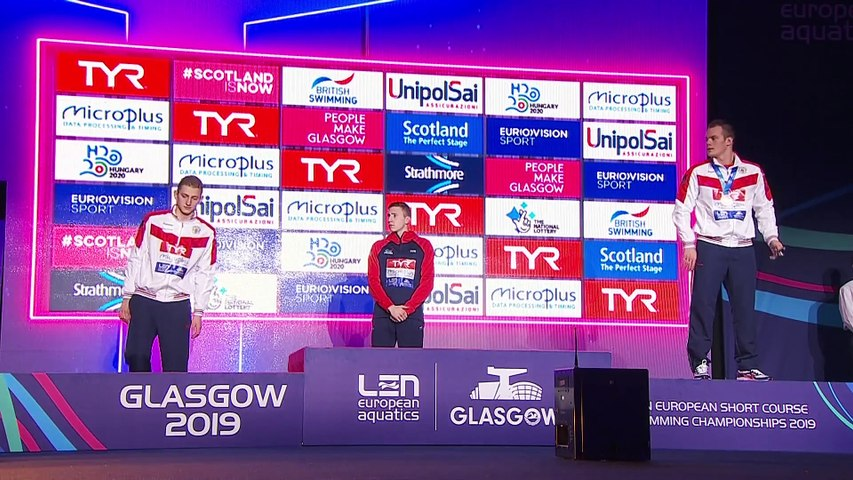 20th LEN European Short Course Swimming Championships - GLASGOW 2019 - Day 2 Afternoon
