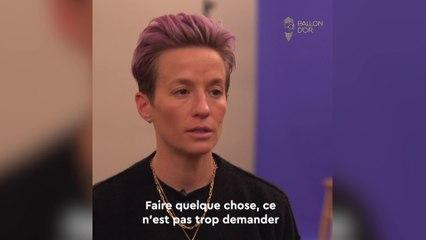 Foot - Ballon d'Or France Football 2019 : Rapinoe «Si je veux que ça change, je dois agir»