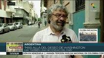 Argentinos esperan cambios en la política exterior con el nuevo gob.