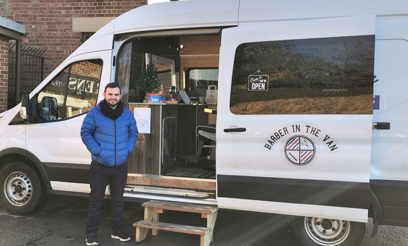 The Barber in the Van, Ripon