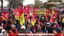 Avignon : terre de convergence des luttes