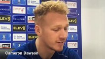 Sheffield Wednesday goalkeeper Cameron Dawson said the Owls squad won't be distracted by off-field issues at the club