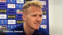 Sheffield Wednesday goalkeeper Cameron Dawson on the need to beat teams in the top half of the Championship table