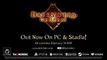 Darksiders Genesis - Bande-annonce de lancement (PC et Stadia)