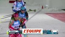 Braisaz remporte le 15km d'Östersund, Julia Simon 3e - Biathlon - CM (F)