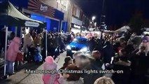 Mexborough Christmas lights switch on