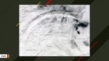 NASA Satellite Spotted This Massive Arc Of Clouds Stretching Across Northern US