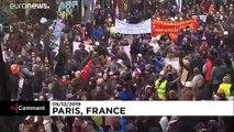 برگزاری یکی از بزرگترین اعتراضات و اعتصابات سراسری در فرانسه