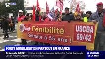 Grève: une forte mobilisation partout en France