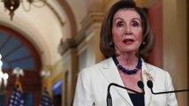 Pelosi backs impeachment, saying democracy 'at stake'