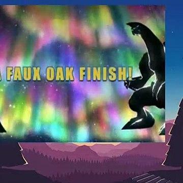 Pokemon S12E34 A Faux Oak Finish