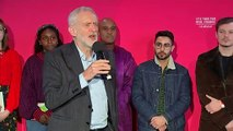 Jeremy Corbyn speaks at Birmingham rally